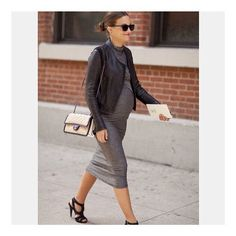 Pin for Later: Insta-Inspiration: 15 Looks to Add to Your Maternity Wardrobe Up For Anything
