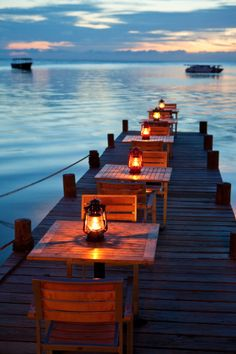 Lanterns on the Pier - Honduras Oh The Places You'll Go, Places To Travel, Travel Destinations, Places To Visit, Best Vacation Spots, Best Vacations, Beautiful World, Beautiful Places, Romantic Places