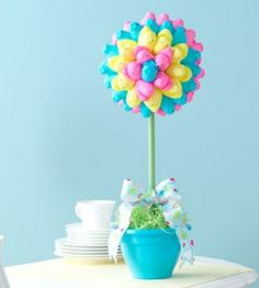 Easter Crafts | Peeps Topiary Easter Craft | Spring Crafts — Country Woman Magazine