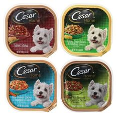 Cesar Home Delights Dog Food 4 Flavor 8 Can Bundle: (2) Beef Stew, (2) Turkey, Green Beans and Potatoes, (2) Slow Cooked Chicken and Vegetables, and (2) Beef Broccoli and Brown Rice, 3.5 Oz. Ea. ** Click image for more details. (This is an affiliate link) #DogFood