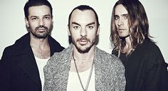 Thirty Seconds To Mars - Magazine Ladygunn, Issue Thirty Seconds, 30 Seconds, A Beautiful Lie, M Image, Life On Mars, Shannon Leto, Just Jared, Love And Lust, Foo Fighters