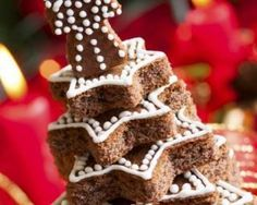 Kinds Of Cookies, Xmas Cookies, Xmas Food, World Recipes, Food Design, Food Art, Biscuits, Birthday Candles, Gingerbread