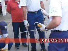 NR33 - MEDINDO EXPLOSIVIDADE - Monopus Segurança do Trabalho