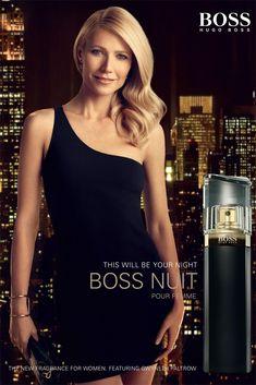 Gwyneth Paltrow on Hugo Boss New Women's Fragrance