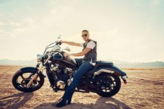 Motorcycle Photography Dry Lake Bed- Adrian and his motorcycle  - Blog -
