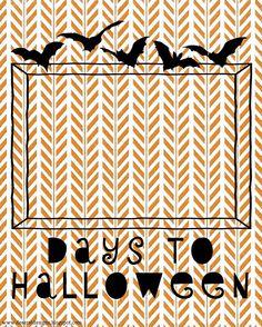 Deseret Designs Countdown to Halloween
