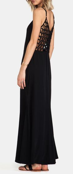 Cleobella Fiona Dress in Black, look so comfy