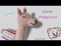 LHAMA AMIGURUMI - PARTE 1 - YouTube