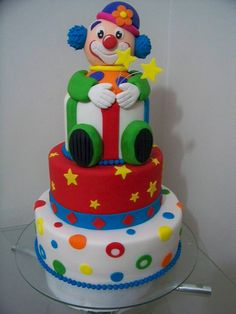 Circus Clown Cake Be inspirational ❥|Mz. Manerz: Being well dressed is a beautiful form of confidence, happiness politeness