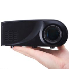 [$31.76] X6 Full HD 1080P 100LM Mini LED Home Theater Projector with Remote Control, Support HDMI / VGA / SD / RCA(Black)