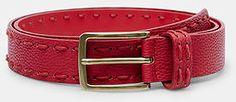Womens cherry rectangular buckle belt from Mango - £29.99 at ClothingByColour.com Belt Buckles, Mango, Cherry, Accessories, Color, Women, Fashion, Manga, Moda