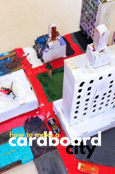 A cardboard city is a must-make project for families! This is a wonderful DIY toy that teaches kids about creative reuse and collaboration. Creative Activities For Kids, Fun Activities, Diy For Kids, Crafts For Kids, Cardboard City, Cardboard Toys, Babble Dabble Do, Diy Barbie Furniture, Office Furniture