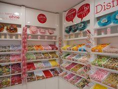 Magasin de bonbons à Barcelone en Espagne