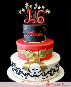 Alexis's Sweet 16 Cake