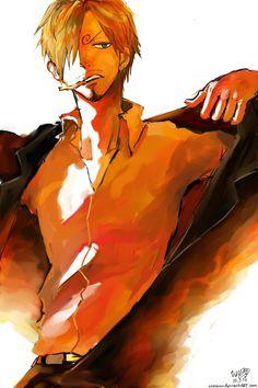 are you always this hot, sanji-kun?? ;-; #sanji