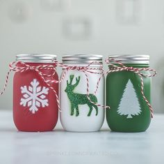 einfache heimwerkerprojekte A little Christmas fun. Snowman Christmas Decorations, Christmas Arts And Crafts, Handmade Christmas, Christmas Crafts, Mason Jar Crafts, Mason Jar Diy, Bottle Crafts, Christmas Mason Jars, Do It Yourself Crafts
