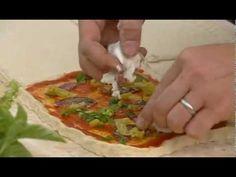 Рецепт итальянской пиццы Четыре вкуса   Рецепты Джейми Оливера