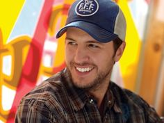Luke Bryan - Click image to find more Celebrities Pinterest pins