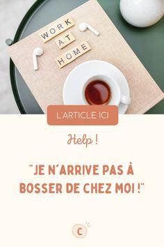 Je te donne mes 8 conseils pour que tu arrives enfin à travailler de chez toi efficacement. www.chamaddy.fr Entrepreneur, Waste Of Times, Work At Home, Time Management, Content Marketing, Tips