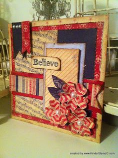 """Believe"" Patriotic Card"