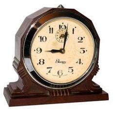 Original 1930s French Art Deco Blangy Bakelite Clock