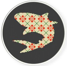Instant Download,Free shipping,Cross stitch pattern, Cross-StitchPDF,cloth pattern,shark,zxxc0351. $4.50, via Etsy.