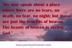 Quotes about heaven - Max Lucado Heaven Quotes, Max Lucado, Death
