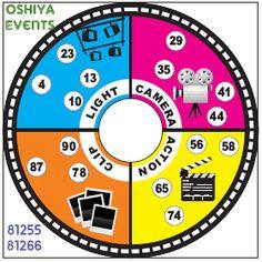 Bollywood Theme Tambola (Housie) Ticket created for an event #oshiyaevents 8125581266