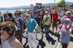 The team from Gay Sport Zurich will be marching in the 2013 Zurich Pride Festival