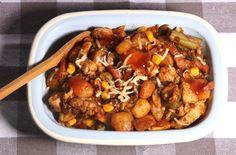 De gezonde recepten van Ursie Kung Pao Chicken, Ethnic Recipes, Food, Meal, Essen, Hoods, Meals, Eten
