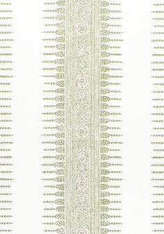 Anna French, Matching Wallpaper, Javanese, Stripe Print, Printing On Fabric, Green, Pattern, Prints, Fabrics