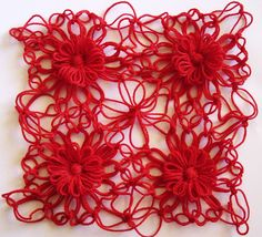 Flower Looms: Solomon's Knot Join