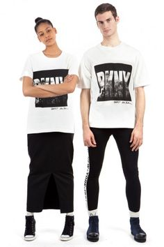 DKNY 90s Revival Collection For Opening Ceremony
