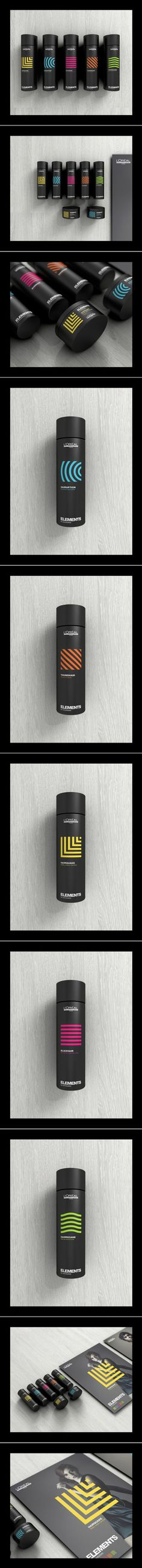 LOREAL Professional Hair Care Paris Branding and Packaging by Romain Roger | Fivestar Branding – Design and Branding Agency & Inspiration Gallery