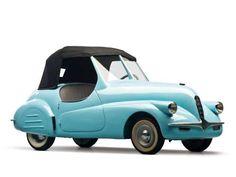 Microcoches, los más raros del mundo • ALCA VOLPE •  En 1947, la alternativa al Fiat 500 era este pequeño coche con capota de lona. Más conocido como 'Vetturetta', era un biplaza también fabricado en Italia