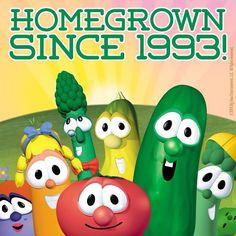 homegrown since 1993; Veggietales