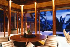 Hotel Amanpuri, Phuket (Thailand). Suites here are called pavilions and ensure complete privacy that were appreciated by Prince William and Tiger Woods.
