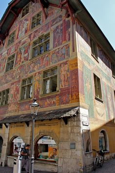 Guild building in Schaffhausen
