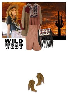 """wild west style"" by saramoreira ❤ liked on Polyvore featuring Isabel Marant and River Island"