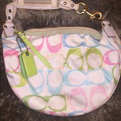 Authentic Coach Bag Authentic Coach Colorful bag Coach Bags
