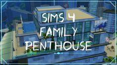 This is a tour around my first penthouse. Didn't record it cause it took me days to finalise the decor of the whole place. So it's just a tour for now bu. Sims 4 Penthouse, Sims 4 Family, Camera Phone, Neon Signs, Geek, Tours, Geeks, Camera, Nerd