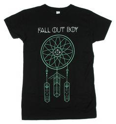 Fall Out Boy Dreamcatcher Girls T-Shirt
