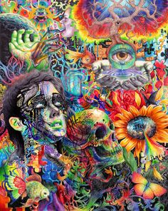 psychedelic-trips:   Cerebral Dysfunctionby~CallieFink