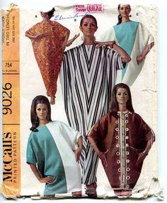 Vintage Mod 1960s Sewing Pattern McCalls 9026 by MaddieModPatterns