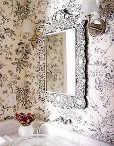 Carlton Varney Rooms | The Glam Lamb: Bone In-lay Furniture