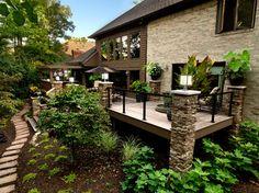 Outdoor Spaces - eclectic - patio - cincinnati - Albrecht Wood Interiors