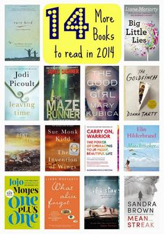 14 More Books to Read in 2014 : The Chirping Moms. Great picks to add to your holiday wish list!