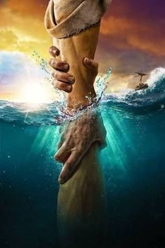 The directional love of God keeps us from sinking. Keep our heart's set on the Voice of His Son Jesus Christ. God Bless YOU! Jesus Rettet, Jesus Is Lord, Jesus Christ Quotes, I Love Jesus, Jesus Christ Images, Jesus Loves You, Prayer To Jesus, Cry Out To Jesus, Jesus Sayings