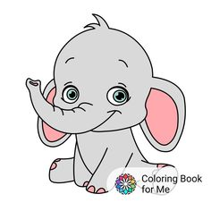 Coloring Books, Coloring Pages, Cat Stickers, Anniversary Cards, Smurfs, Pikachu, Hello Kitty, Projects To Try, Elephant