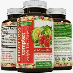 Achieve All Natural Weight Loss Complex Appetite Suppressant / Metabolism Booster / Fat Burner With Garcinia Cambogia + Raspberry Ketones + Green Coffee Bean Extract + Green Tea Extract  Check It Out Now     $35.01    Use these weight loss pills to achiev